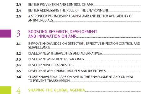 Resistenza antimicrobica: i progressi dell'AMR One Health nella quarta relazione
