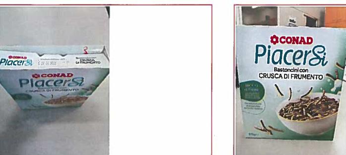 """Richiamo prodotto per rischio chimico:  BASTONCINI CON CRUSCA DI FRUMENTO CONAD """"PIACERSI"""""""