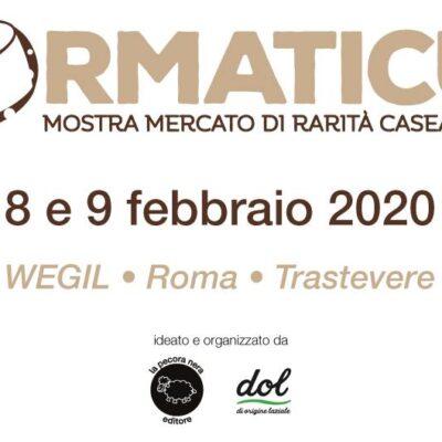 Formaticum, mostra mercato di rarità casearie italiane a Roma dall'8 febbraio 2020