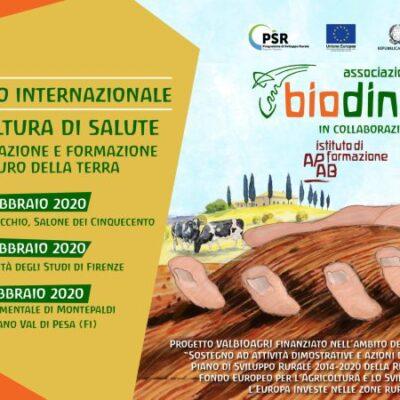A Firenze dal 27 febbraio il 36° Convegno internazionale di Agricoltura Biodinamica