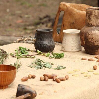 La tavola dei pellegrini medievali
