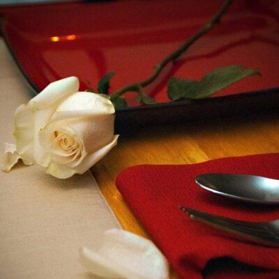 Una cena romantica dalla Francia dell'Ottocento